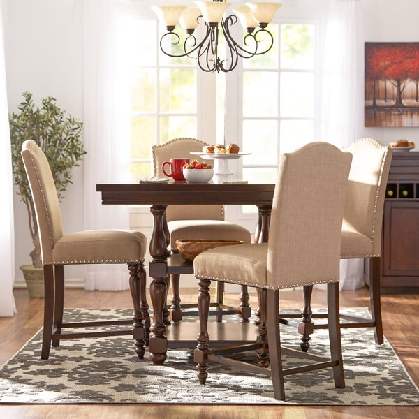 Lanesboro 5 Piece Extendable Dining Set by Three Posts