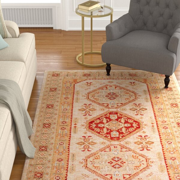 Aymond Ivory Area Rug by Astoria Grand