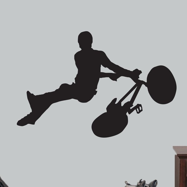 Hartzell BMX Bicycle Wall Decal by Zoomie Kids