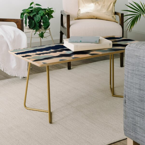 Ninola Soft Relaxing Lines Coffee Table by East Urban Home East Urban Home