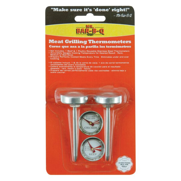 Meat Grilling Thermometers by Mr. Bar-B-Q