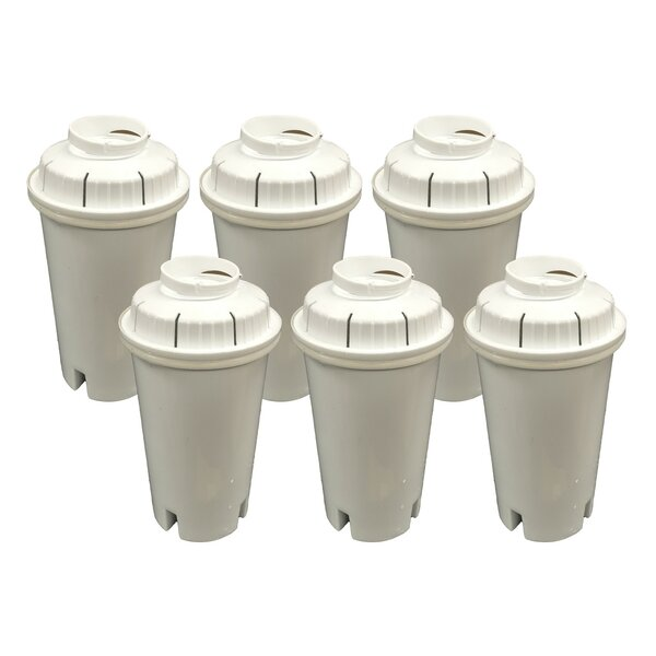 Brita Refrigerator/Icemaker Water Purifier Filter (Set of 6) by Crucial