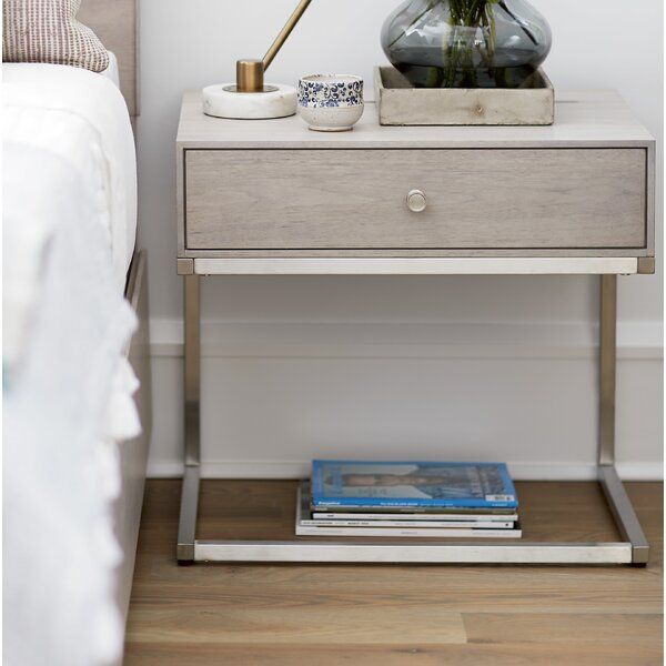 Beahm 1 Drawer Nightstand by Orren Ellis