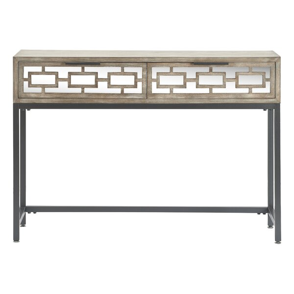 Hayworth Mirrored Console Table By Tommy Hilfiger