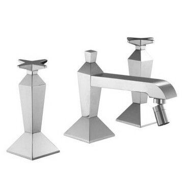 Mp1 Double Handle Horizontal Spray Bidet Faucet by Fima by Nameeks