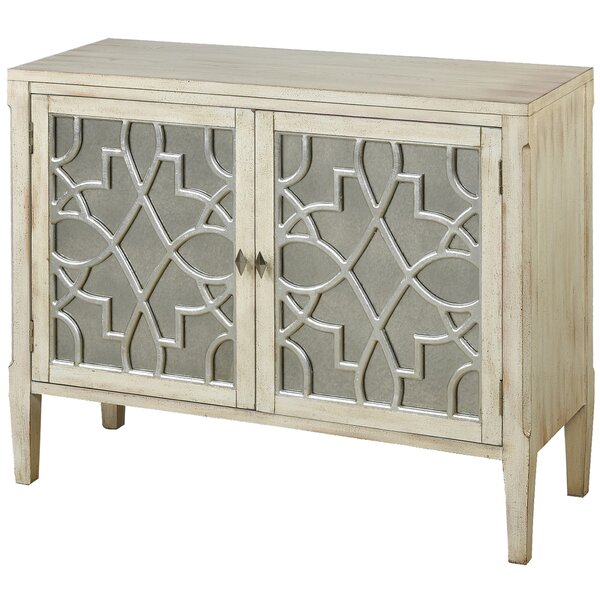 Newbold 2 Door Accent Cabinet by Bungalow Rose Bungalow Rose