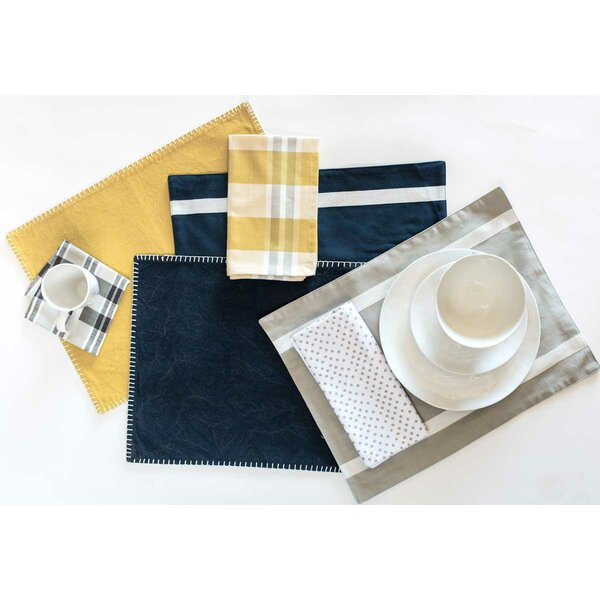 Nara Organic Cotton Placemat (Set of 4) by Gracie Oaks