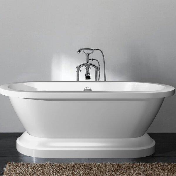 Delaney 67 x 23.6 Freestanding Bathtub by Ancona