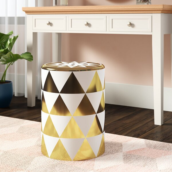 Rozek Ceramic Garden Stool by Wrought Studio