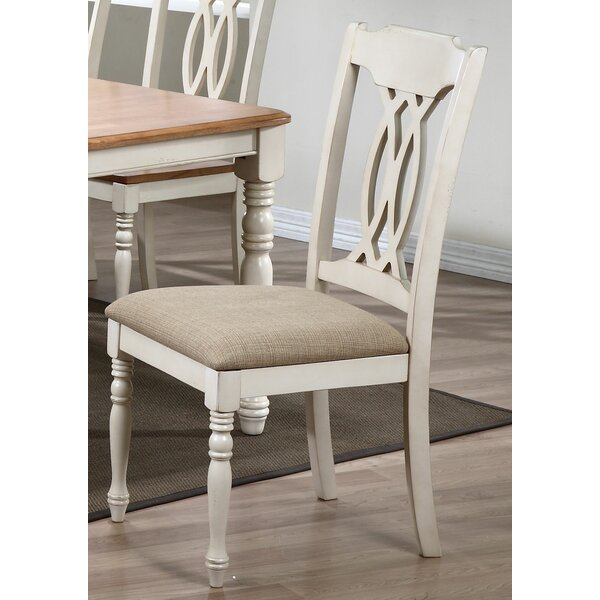 Contemporary Upholstered Dining Chair (Set of 2) by Iconic Furniture
