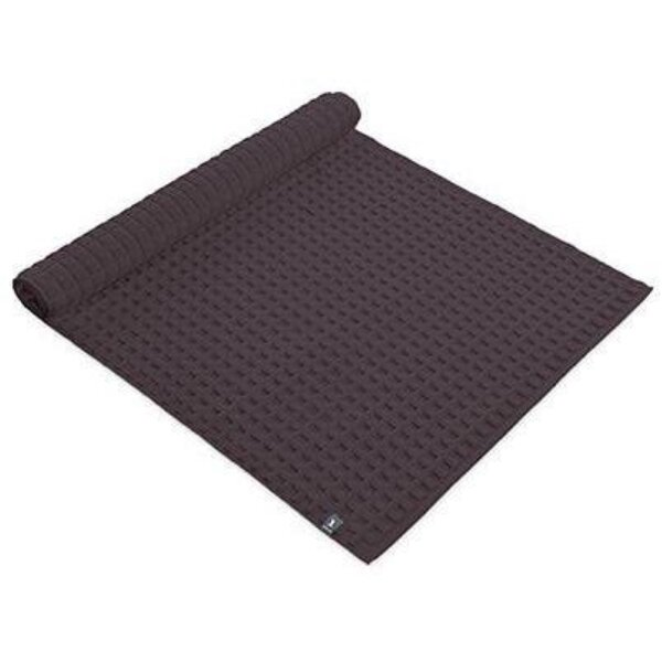 Friley Waffle Structure Absorbent Rectangle 100% Cotton Bath Rug