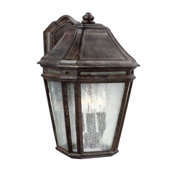 Maxine 3-Light Outdoor Wall Lantern by Darby Home Co