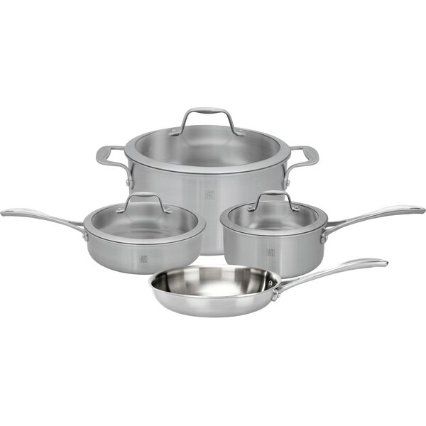 Spirit 7 Piece Stainless Steel Cookware Set by Zwilling JA Henckels
