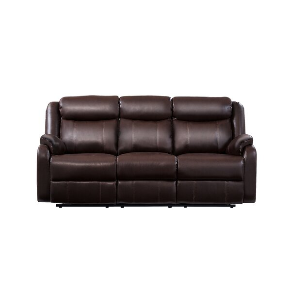 Modern Collection Kirbyville Reclining Sofa by Red Barrel Studio by Red Barrel Studio