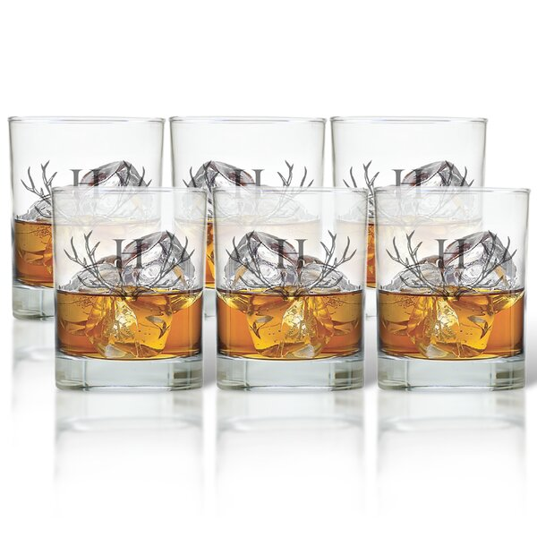 Maximo 13.25 oz. Old Fashioned Glass (Set of 6) by Union Rustic