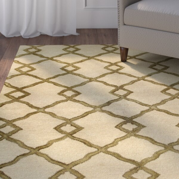 Shippenville Hand-Tufted Ivory Rug by Alcott Hill
