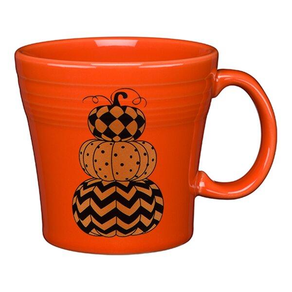 Geo Pumpkins Coffee Mug by Fiesta