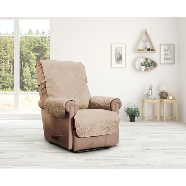 Belmont Leaf Secure Fit Recliner Furniture Slipcover by Innovative Textile Solutions