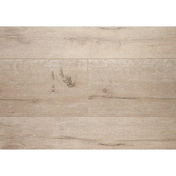 Manhattan 7.5 x 48 x 12.3mm Oak Laminate Flooring in Golden Ash by Chic Rugz