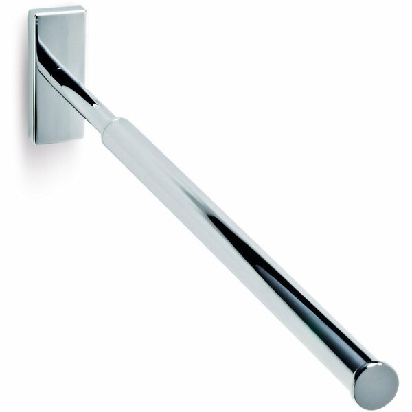 Brass 21 Wall Mounted Towel Bar with Extendable Arms by AGM Home Store
