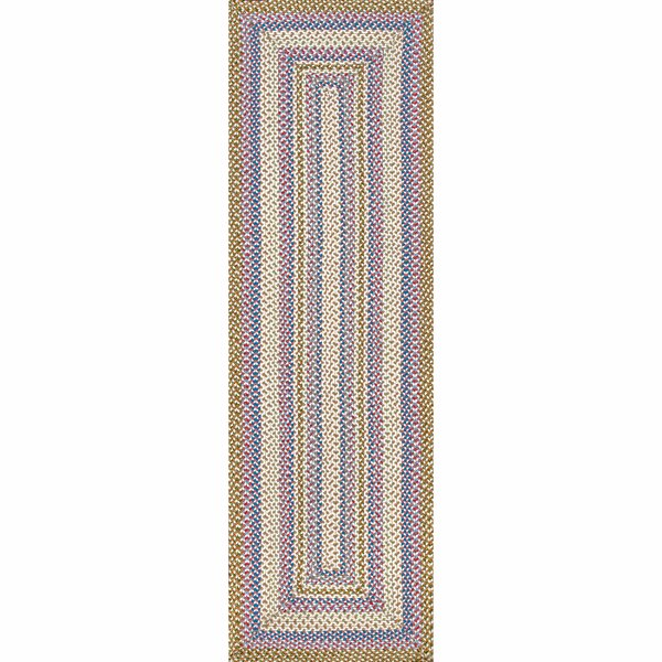 Minchinhampton Blue/Beige Indoor/Outdoor Use Area Rug by Highland Dunes