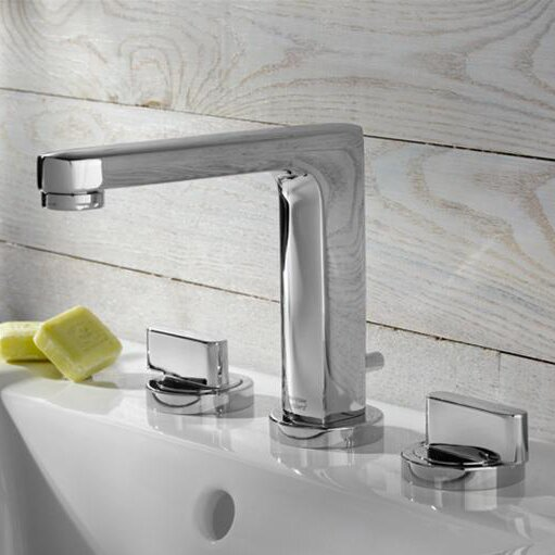 Moments Widespread Bathroom Faucet with Drain Assembly by American Standard