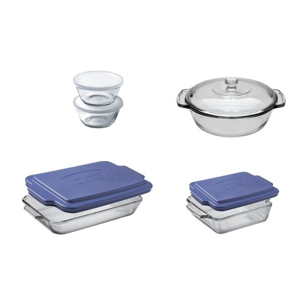 10 Piece Oven Basic Bakeware Set by Anchor Hocking