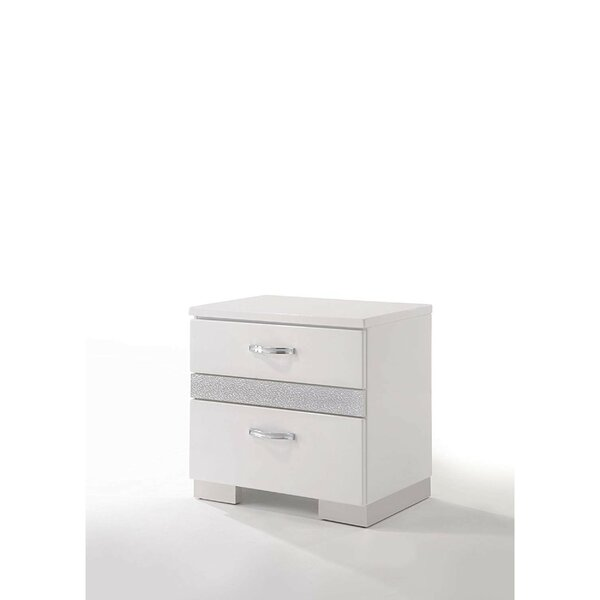 Sigmon 2 Drawer Nightstand by Orren Ellis