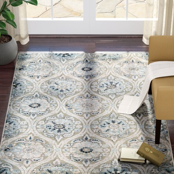 Walshville Greige/Antique Cream Area Rug by Darby Home Co