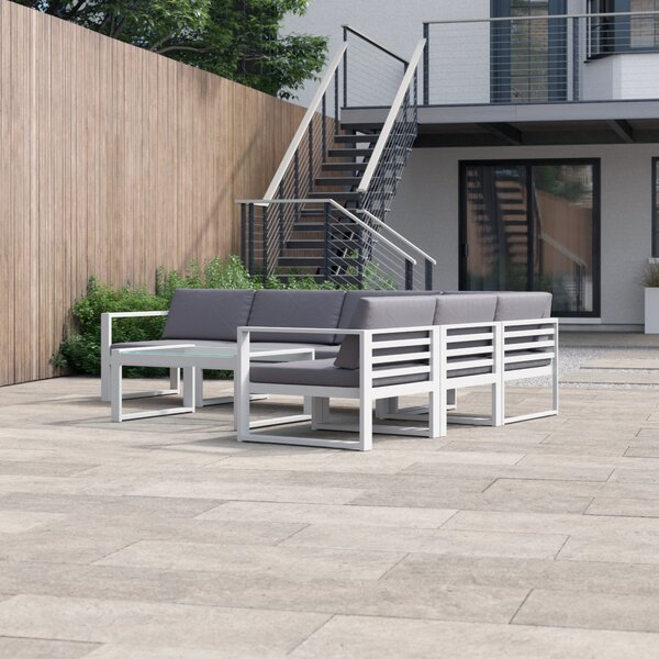 Melody 6 Piece Sectional Set with Cushions by Foundstone