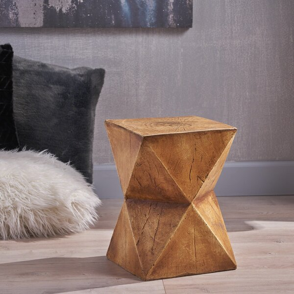 Grunewald End Table by Williston Forge