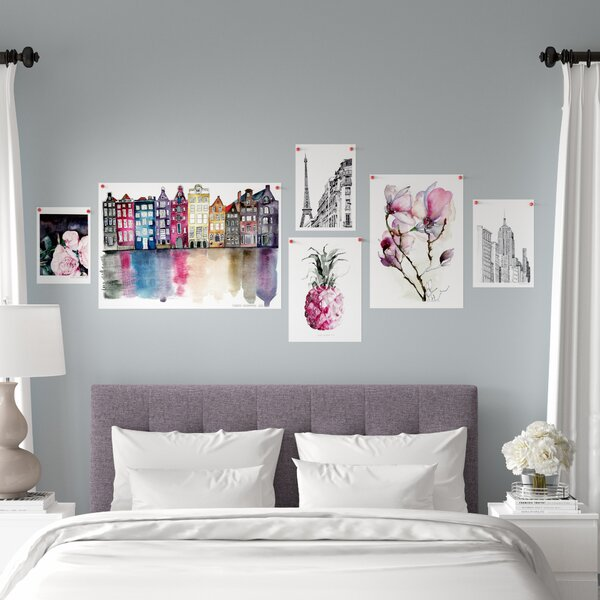 6 Piece Graphic Art Print Set (Set of 6) by East Urban Home