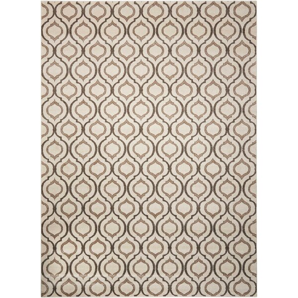 Gabor Brown Area Rug by House of Hampton
