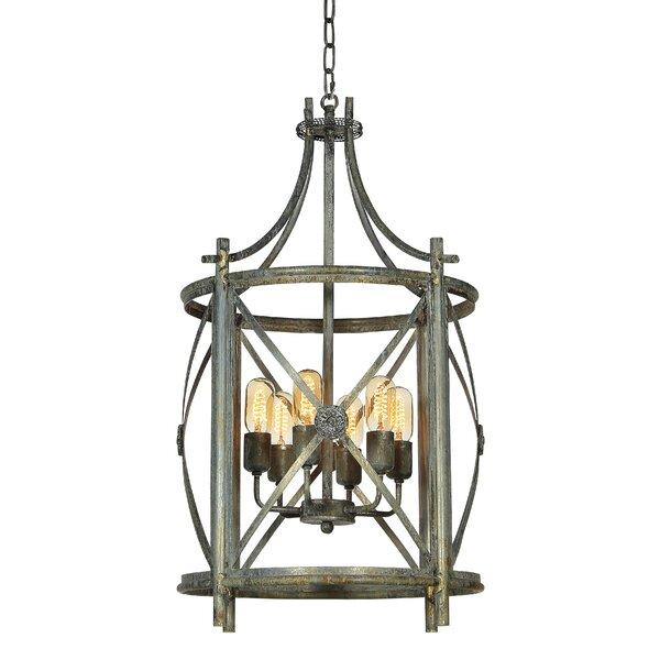 Rosette 4 - Light Lantern Drum Chandelier by ellahome ellahome
