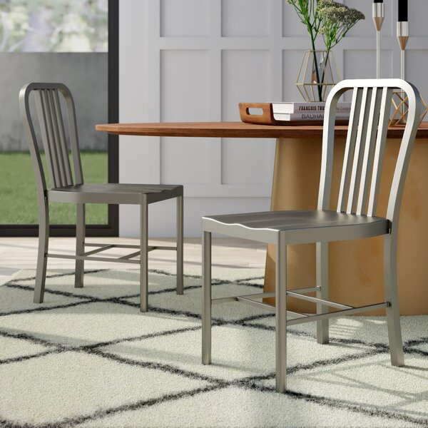 Leo Dining Chair (Set of 2) by Mercury Row