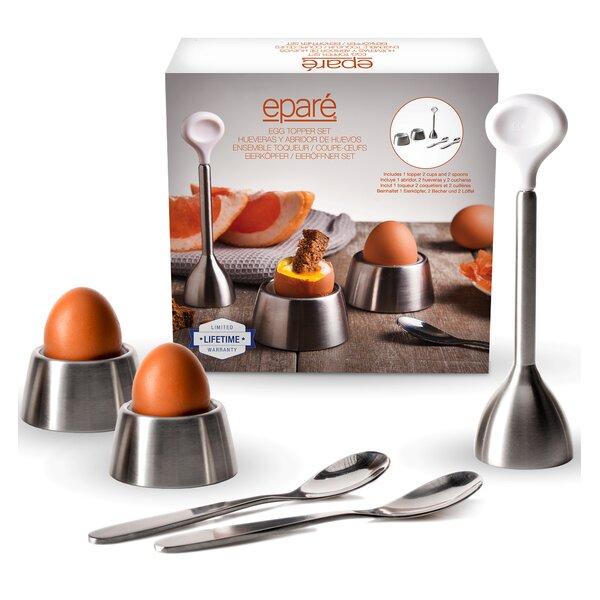 5 Piece Egg Topper Set by Eparé