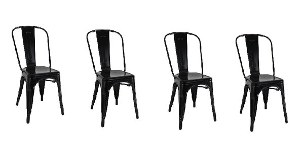 Yashvi Dining Armless Chair (Set of 4) by 17 Stories