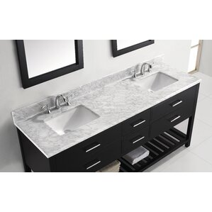 contemporary double sink vanity. rishaan modern 73\ contemporary double sink vanity i