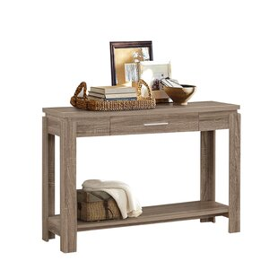 Hermione Wood Console Table by Ebern Designs
