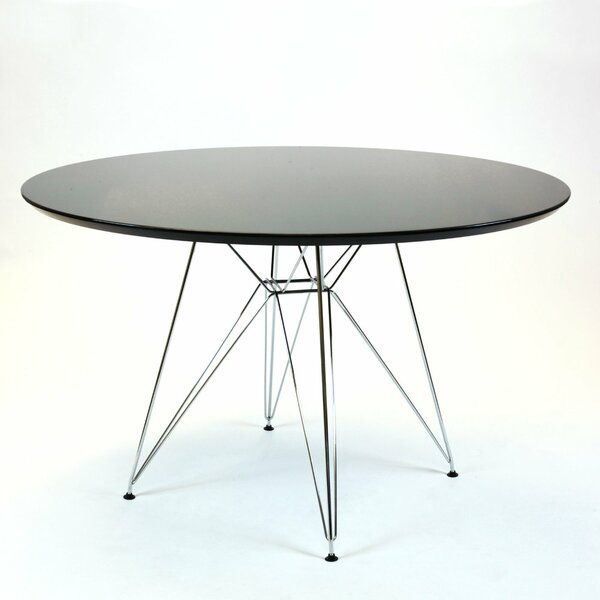 Swafford Circular Dining Table by Ebern Designs