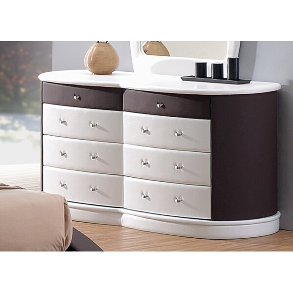 Roussel 8 Drawer Double Dresser by Orren Ellis
