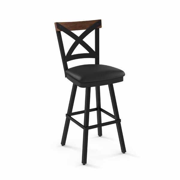 Karsten 30.5 Swivel Bar Stool by Union Rustic