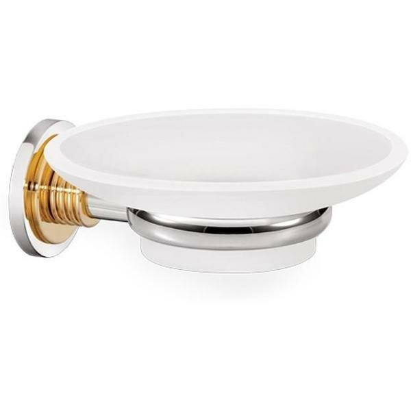 Loughlin Wall Mounted Frosted Glass Soap Dish by Ivy Bronx