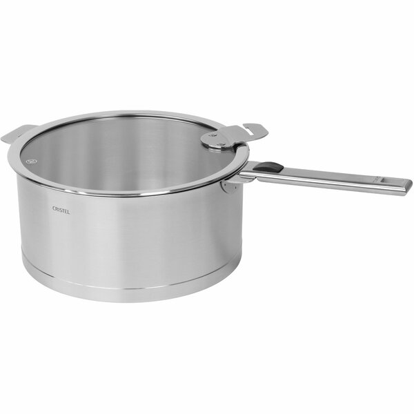 Strate Stock Pot with Lid by Cristel