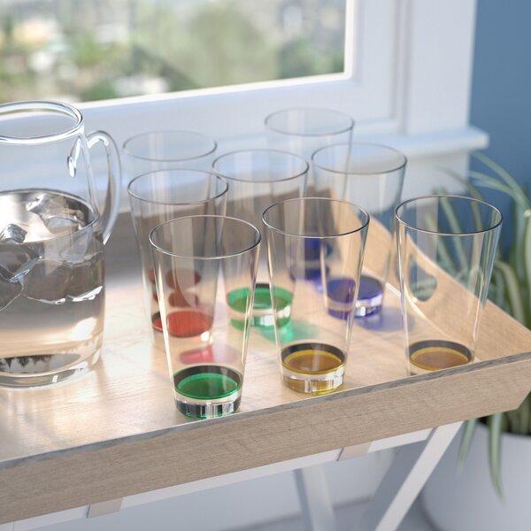 Almeda Acrylic Plastic 23 oz. Tumbler (Set of 8) by Andover Mills