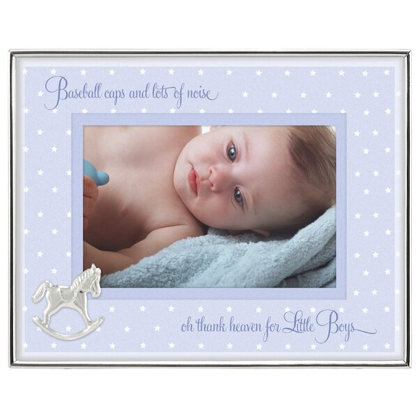 Baby Boy Shadowbox Picture Frame by Malden