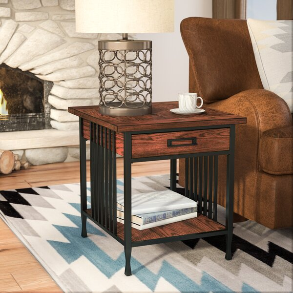 Perao End Table With Storage By Alcott Hill