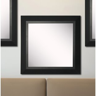 Purchase Kimzey Attractive Matte Black Wall Mirror (Set of 3) By Charlton Home