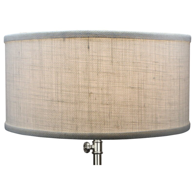 Fenchel shades 14 linen drum lamp shade reviews wayfair 14 linen drum lamp shade mozeypictures Image collections
