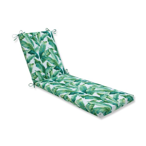 Ursula Indoor/Outdoor Chaise Lounge Cushion By Bay Isle Home